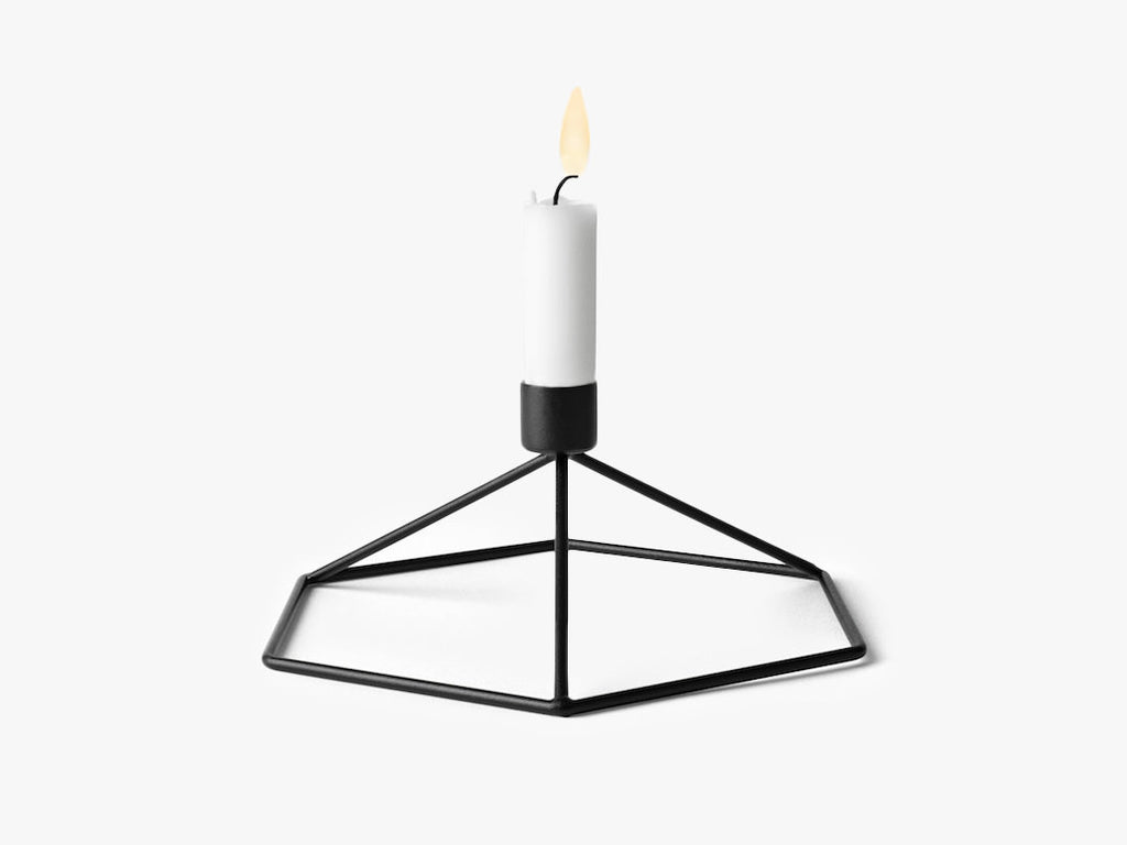 POV candleholder Table, sort fra Menu