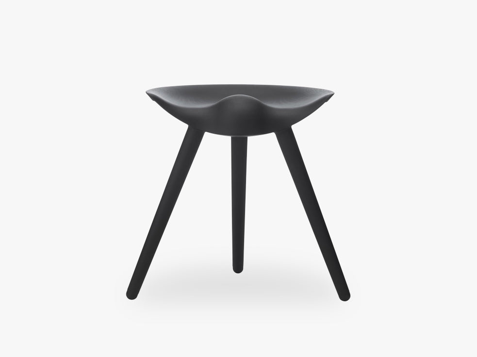 ML 42, stool, black stained beech fra By Lassen