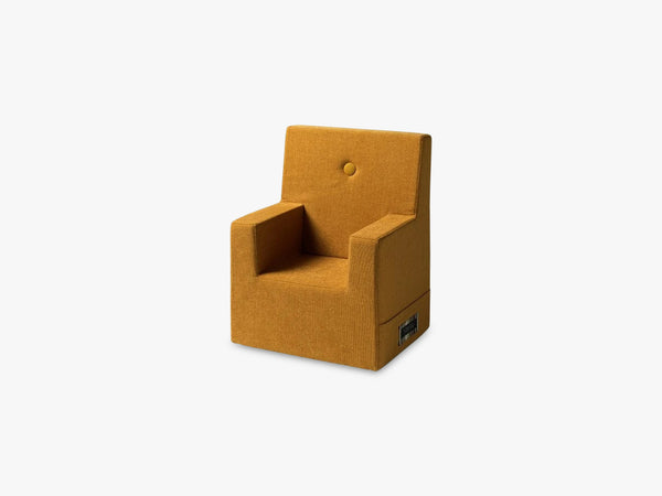 KK Kids Chair XL, Mustard w mustard fra By Klip Klap