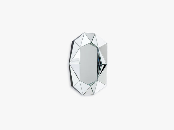 Diamond Mirror Small, Silver fra Reflections Copenhagen