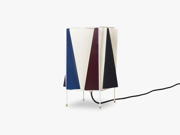 B-4 Table Lamp, French Blue Semi Matt fra GUBI