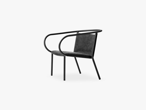 Afteroom Lounge Chair, Black fra Menu