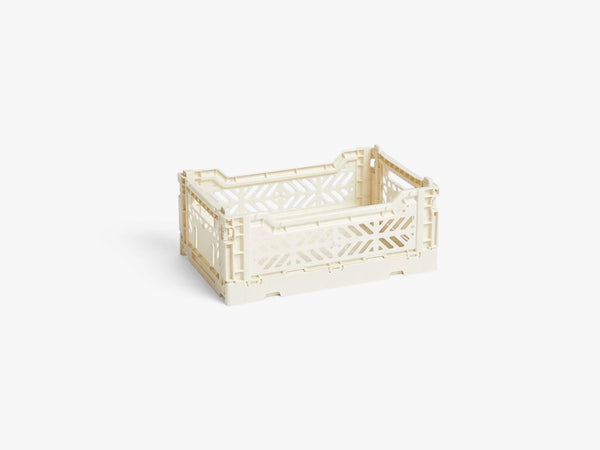 Colour Crate Small, Off White fra HAY