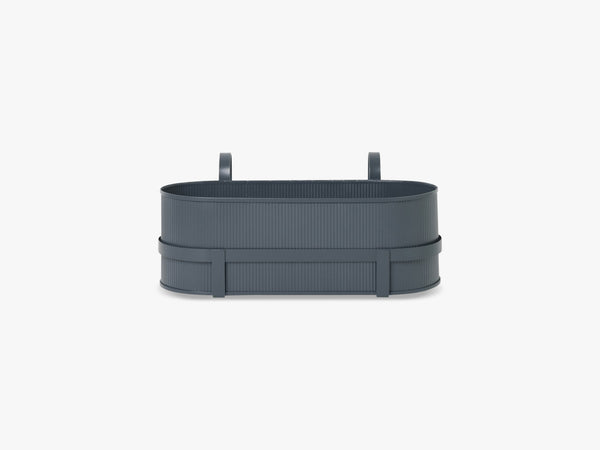 Bau Balcony Box, Dark Blue fra Ferm Living