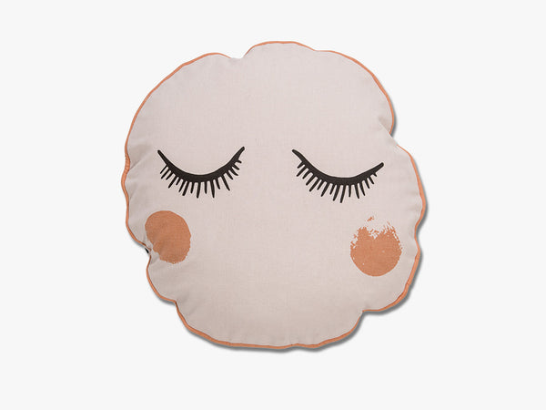 Cushion, Powder w/Black fra Bloomingville