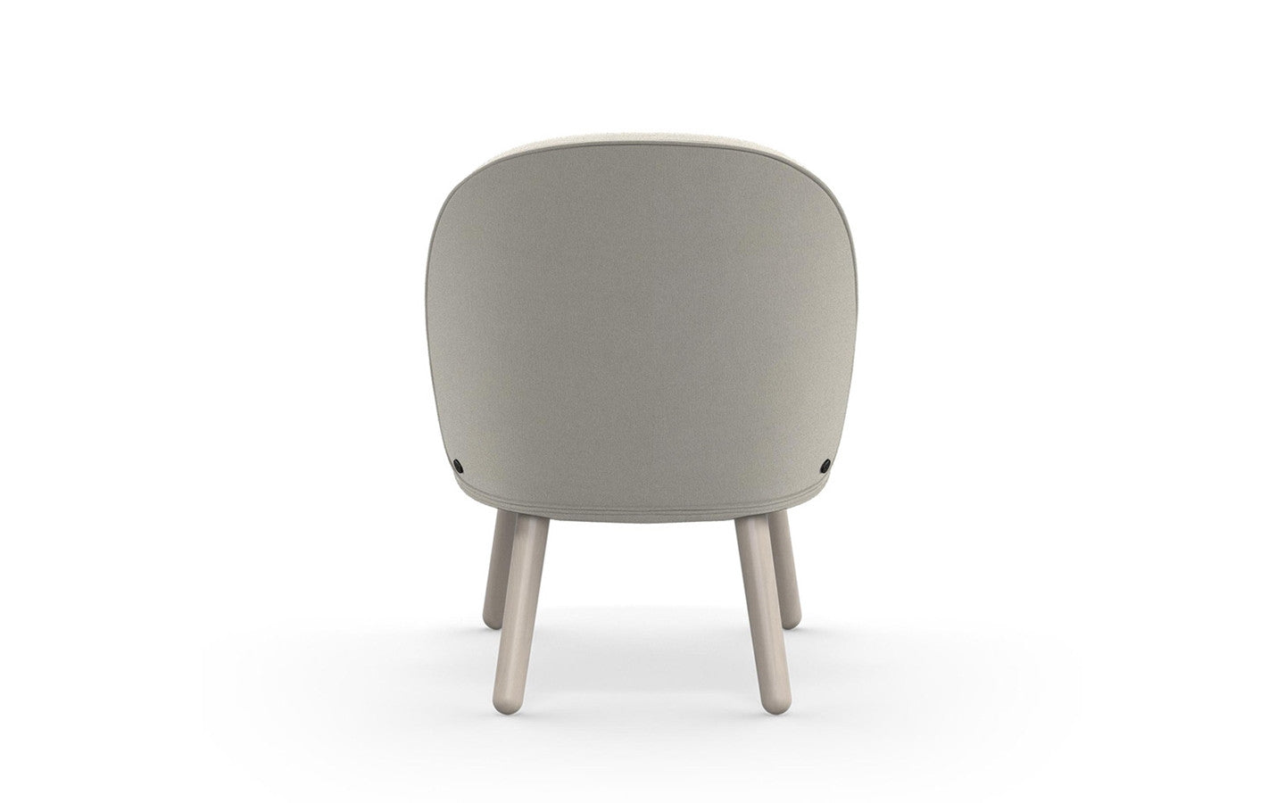 Ace Lounge Chair Nist - Beige fra Normann Copenhagen