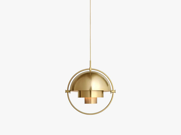 Multi-Lite Pendant - Ø36 - Brass Base, Brass fra GUBI