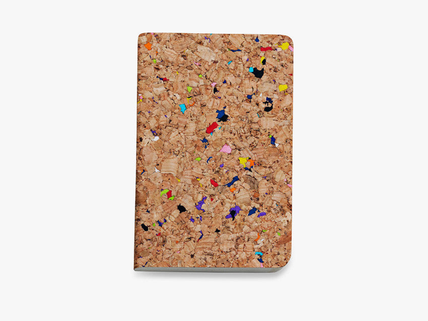 Cork Sketchbook Colour B5 fra Nomess Copenhagen