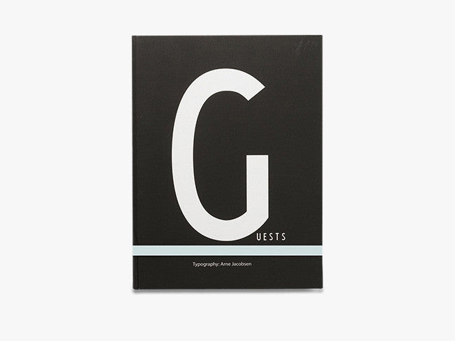 G - Notebook Large fra Design Letters