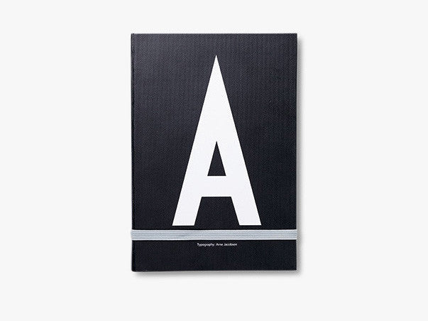 A - Personal notebook fra Design Letters
