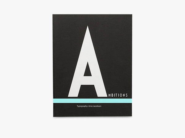A - Notebook Large fra Design Letters