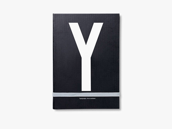 Y - Personal notebook fra Design Letters