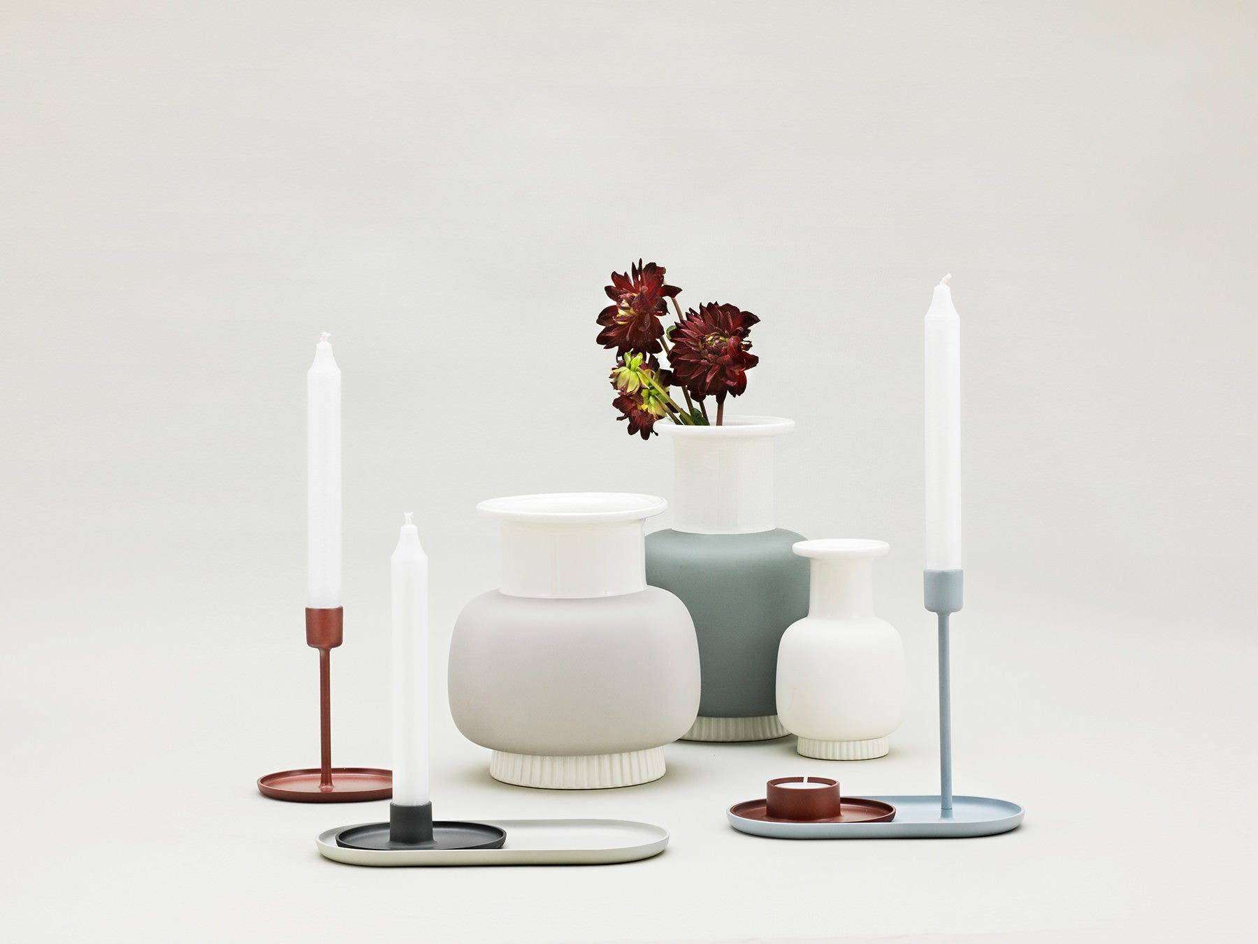 Nyhavn Vase - Sort - Medium fra Normann Copenhagen