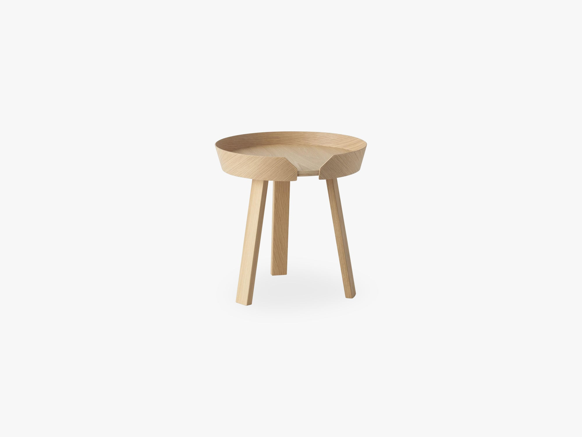 Around Coffee Table - Small, Oak fra Muuto