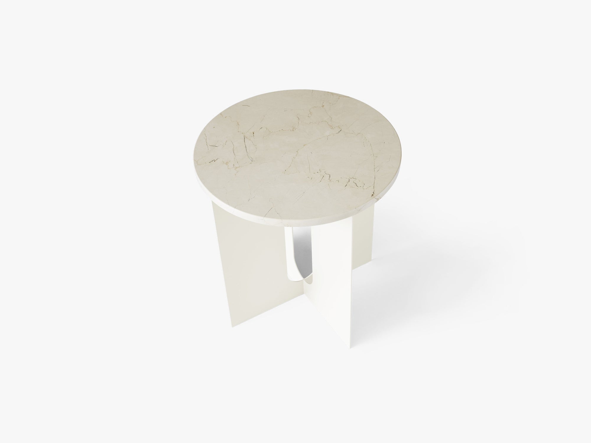 Androgyne Table Top, Ivory Marble fra Menu