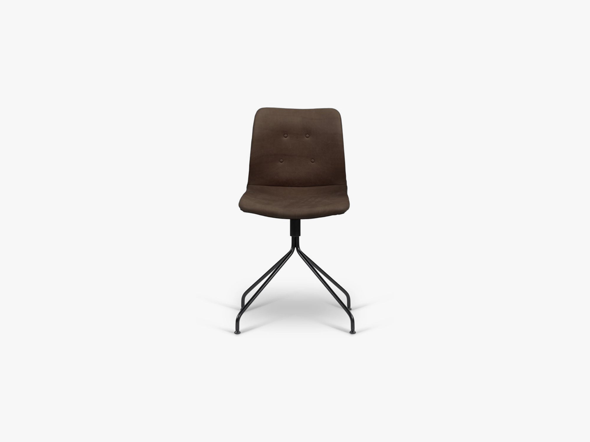 Primum Chair u arm, drejestel sort, Davos, Umbra fra Bent Hansen