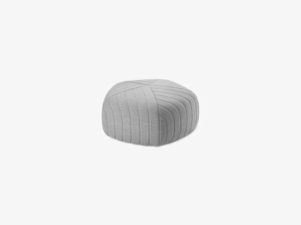 Five Pouf / Small, Light Grey - Remix 123 fra Muuto