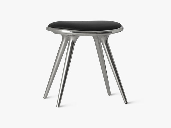 Low Stool H47, Partly Recycled Aluminium fra Mater