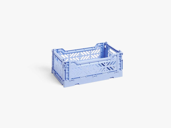 Colour Crate Small, Light Blue fra HAY