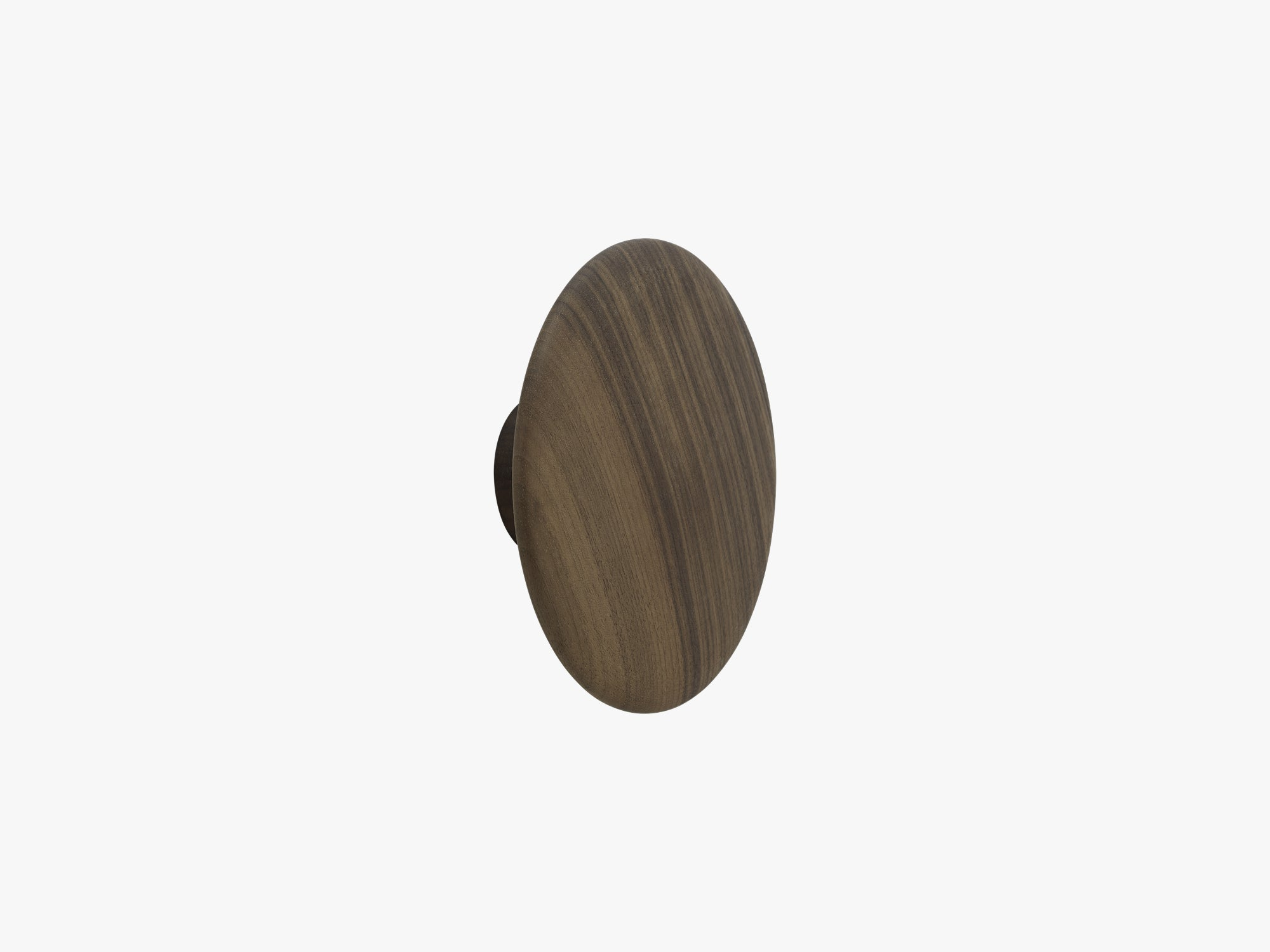 The Dots Coat Hooks - Large, Walnut fra Muuto