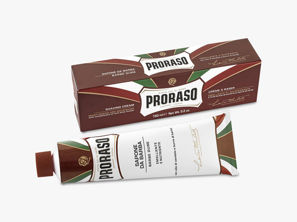 Shaving Cream Tube, Nourish Sandalwood 150ML fra Proraso