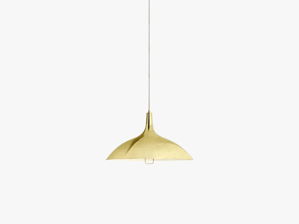 1965 Pendant - Brass base, Brass shade fra GUBI