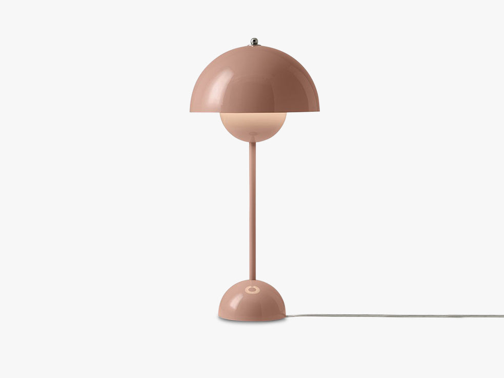 Flowerpot Table Lamp - VP3, Beige red fra &tradition