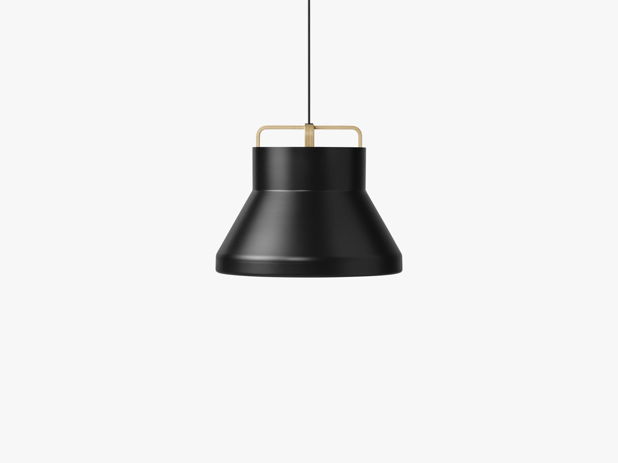 Voyage Pendant M2, Ø46 Black/Oak fra MILLION