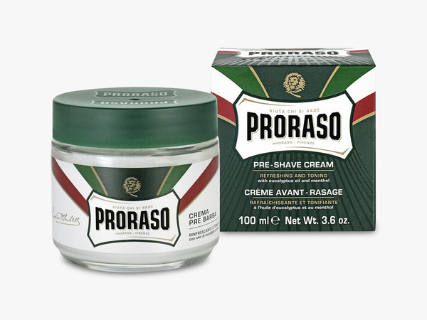 Pre Shave Cream, Refresh Eucalyptus 100ML fra Proraso