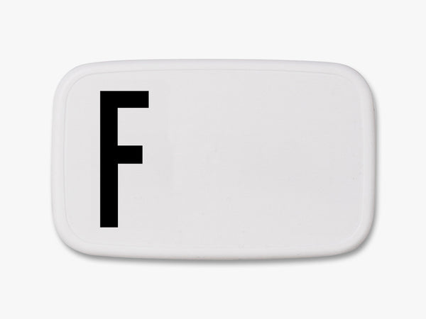 F - Personal Lunch Box fra Design Letters