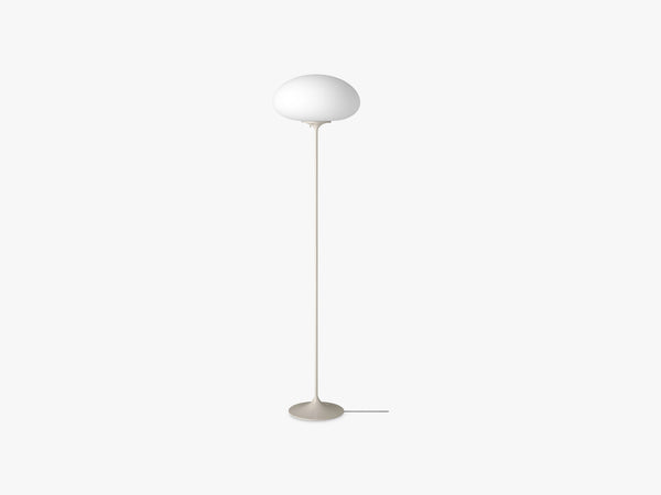 Stemlite Floor Lamp - H150, Pebble Grey fra Gubi