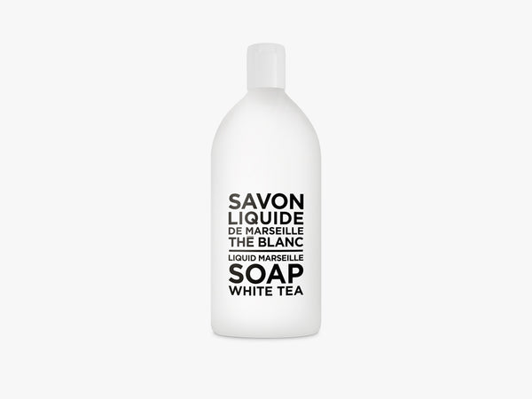 BW Liquid Soap Refill 1000ml, White Tea fra Savon De Marseille