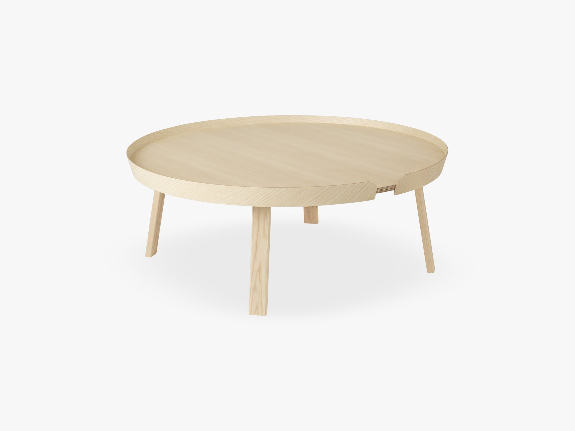 Around Coffee Table - Xl - Extra Large, Ash fra Muuto