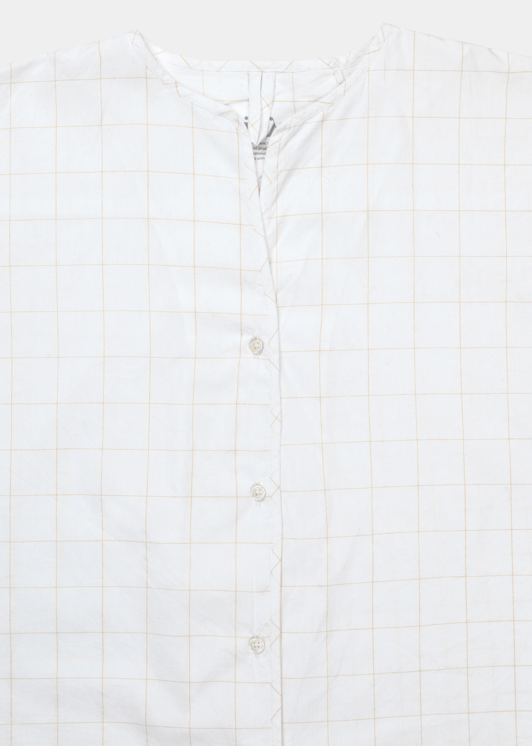 Pyjamas Poplin Checked, Mix Light Oil fra Aiayu