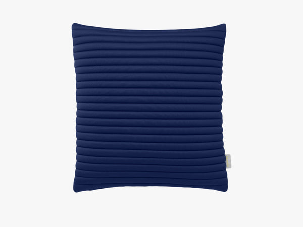 Linear Memory Pillow Square - Blue fra Nomess Copenhagen