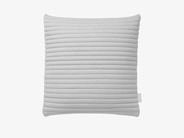 Linear Memory Pillow Square - Grey fra Nomess Copenhagen