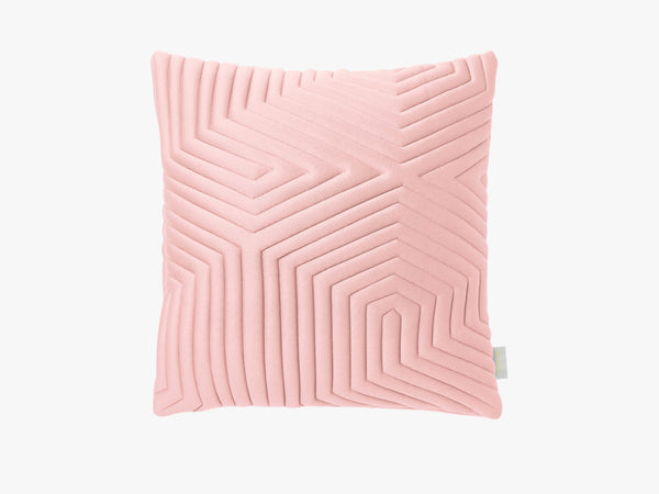 Optical Memory Pillow Square - Nude fra Nomess Copenhagen