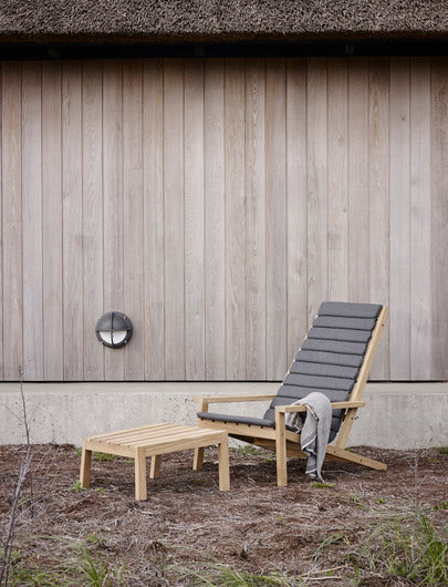 Pude til Between Lines Deckchair, Charcoal fra SKAGERAK