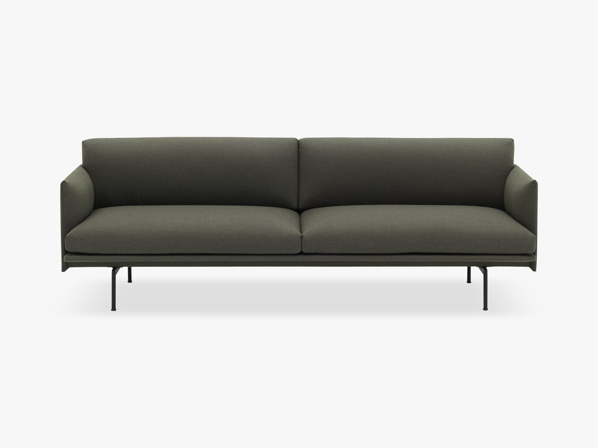 Outline Sofa - 3-Seater, Fiord 961 fra Muuto