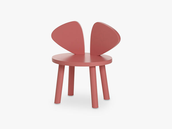 MOUSE CHAIR, ROSA fra NOFRED