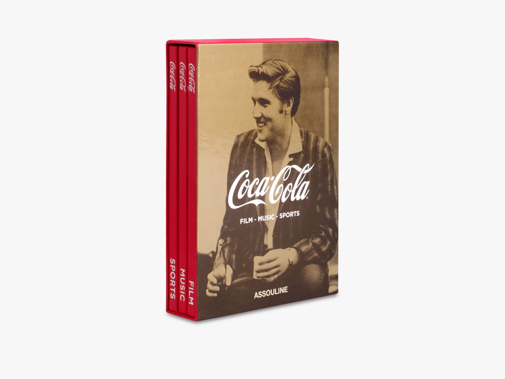 Coca-Cola Set of Three fra Assouline