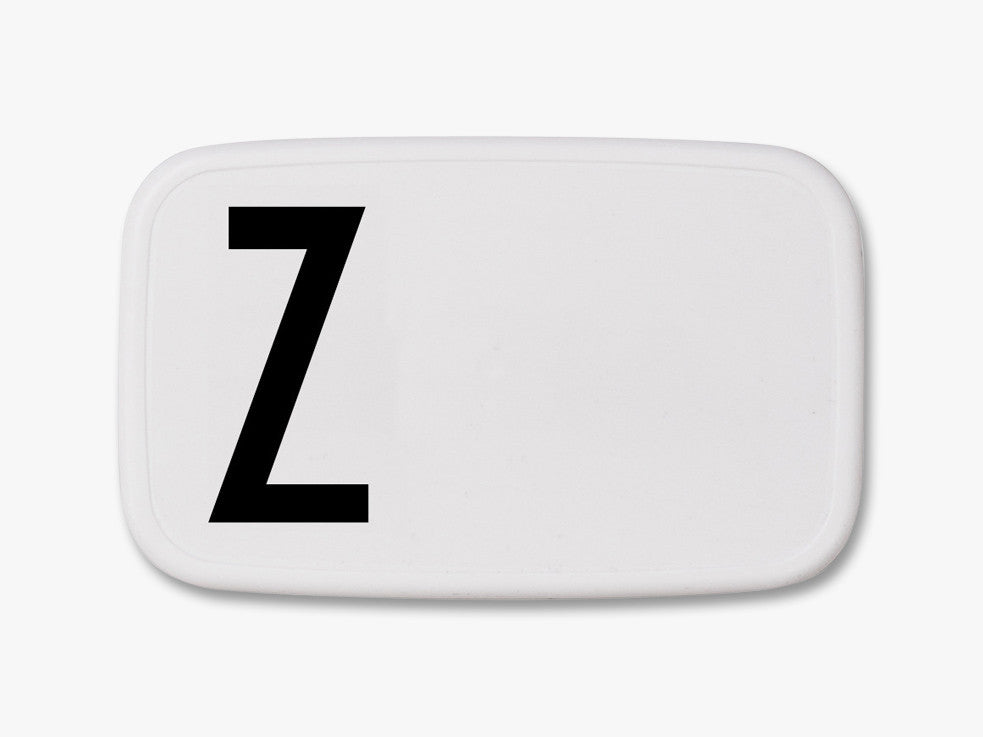 Z - Personal Lunch Box fra Design Letters