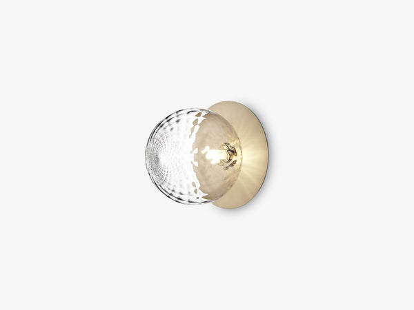 Liila 1 Large, Nordic gold/optic clear fra Nuura