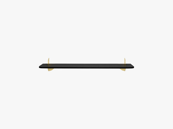 AEDES shelf black/gold, large fra AYTM