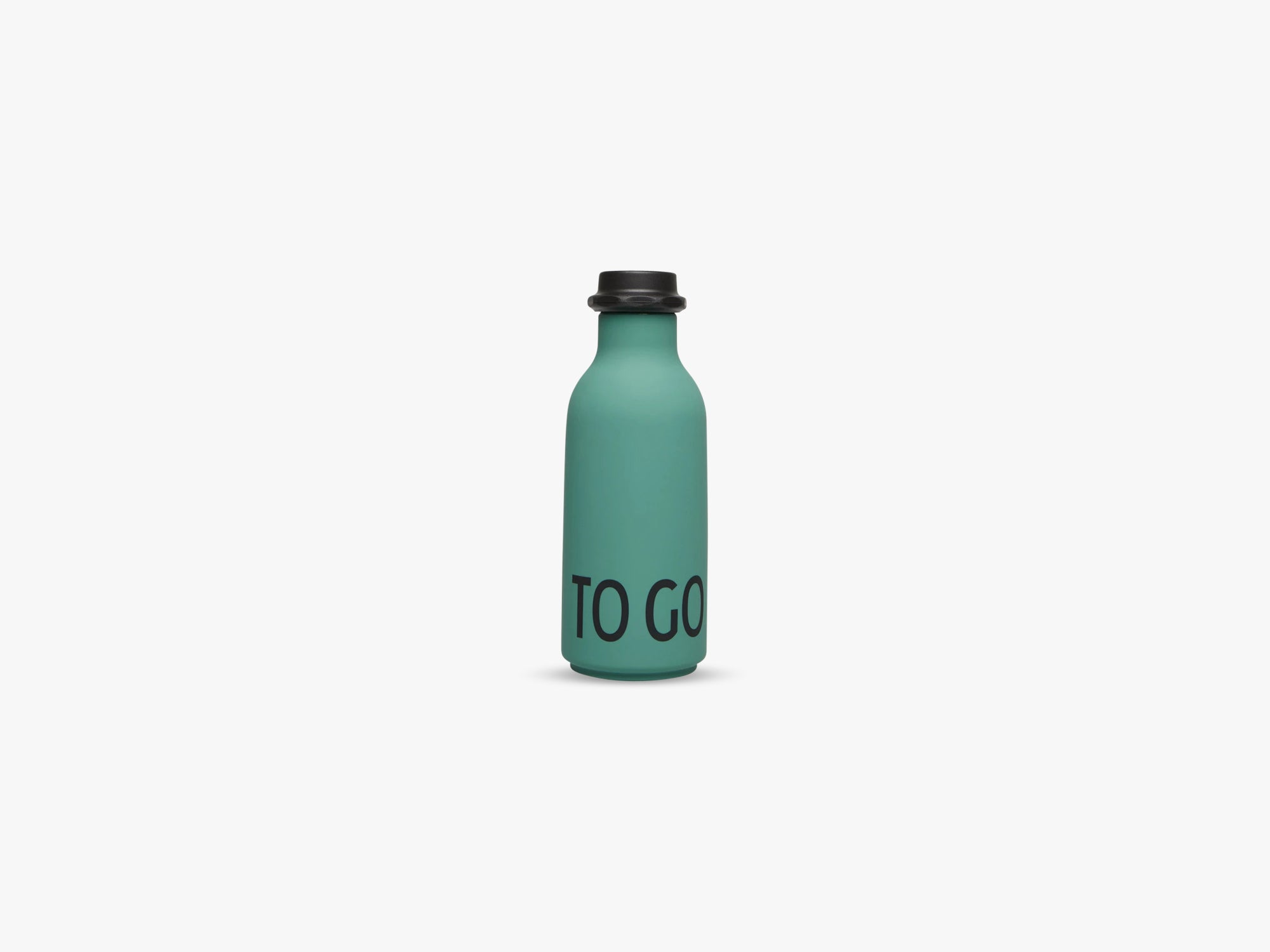 To go waterbottle, Dark Green fra Design Letters