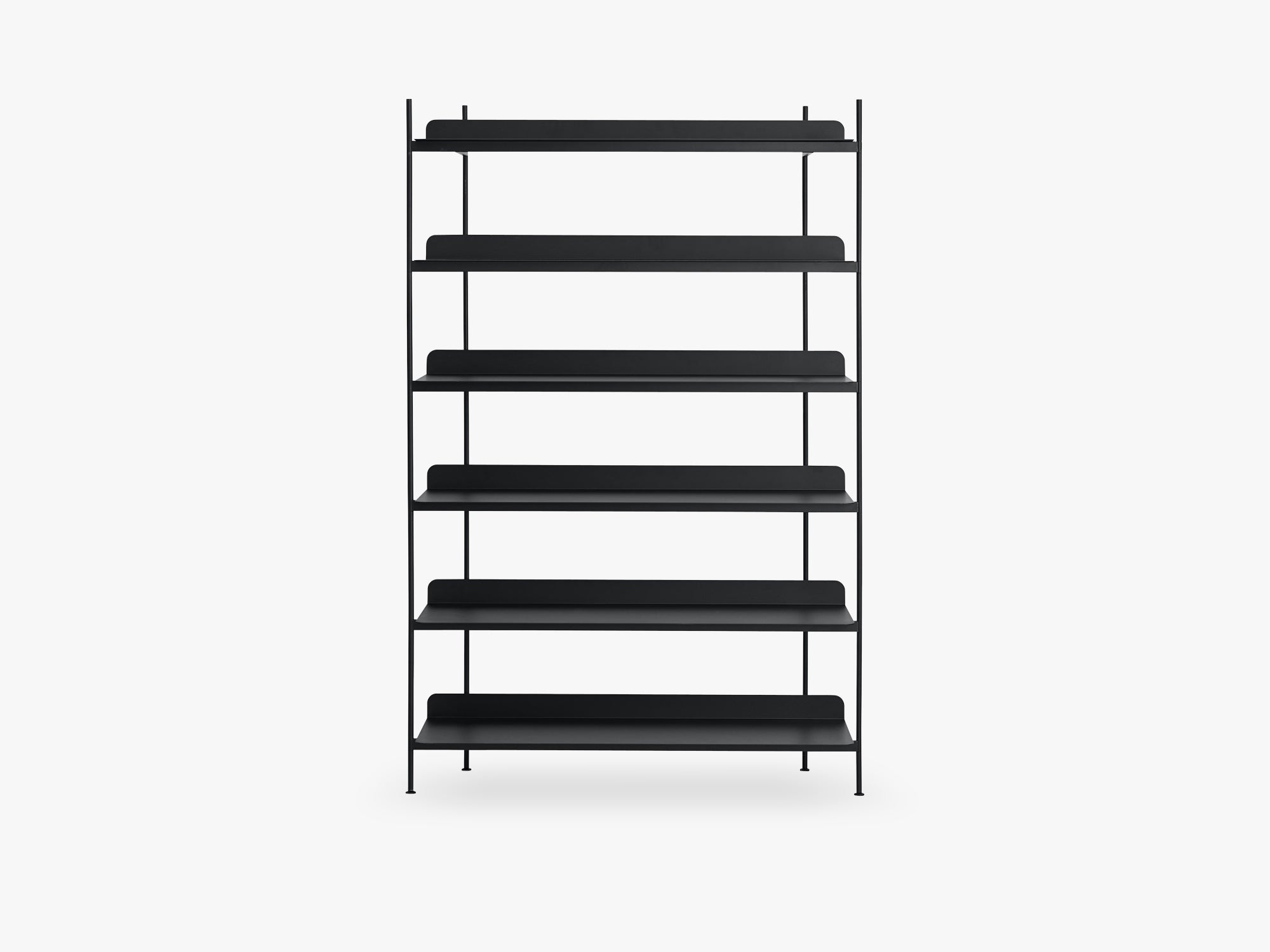 Compile Shelving System / Configuration 4, Black fra Muuto