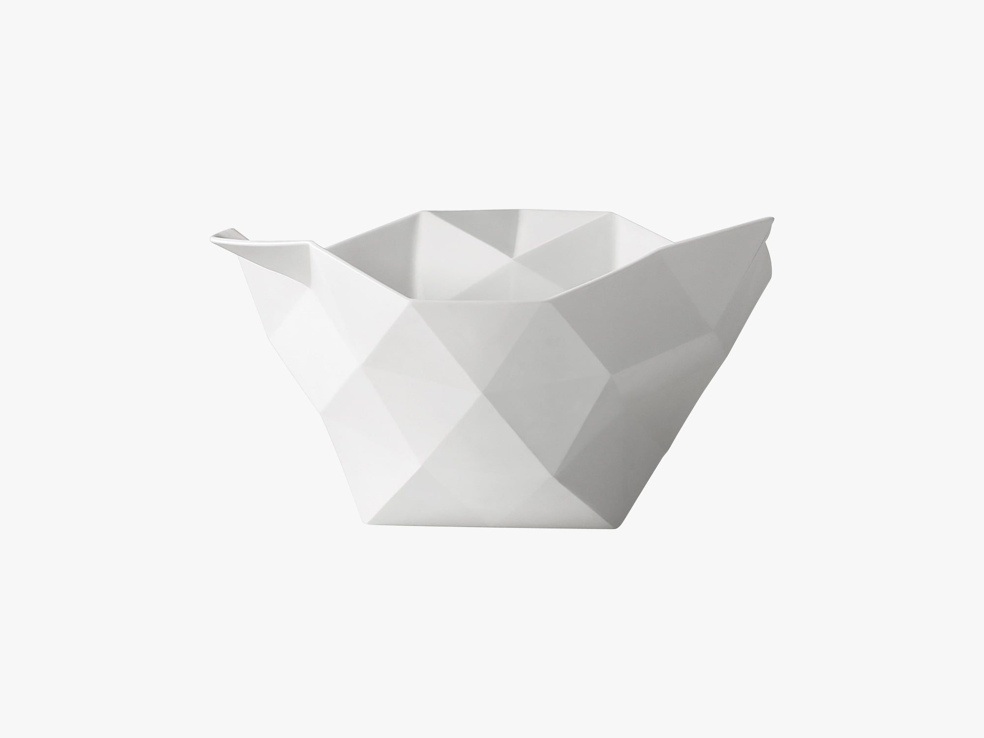 Crushed Bowl / Large, Large - White fra Muuto