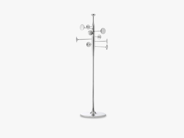Trumpet Coat Stand, Partly Recycled Aluminium fra Mater