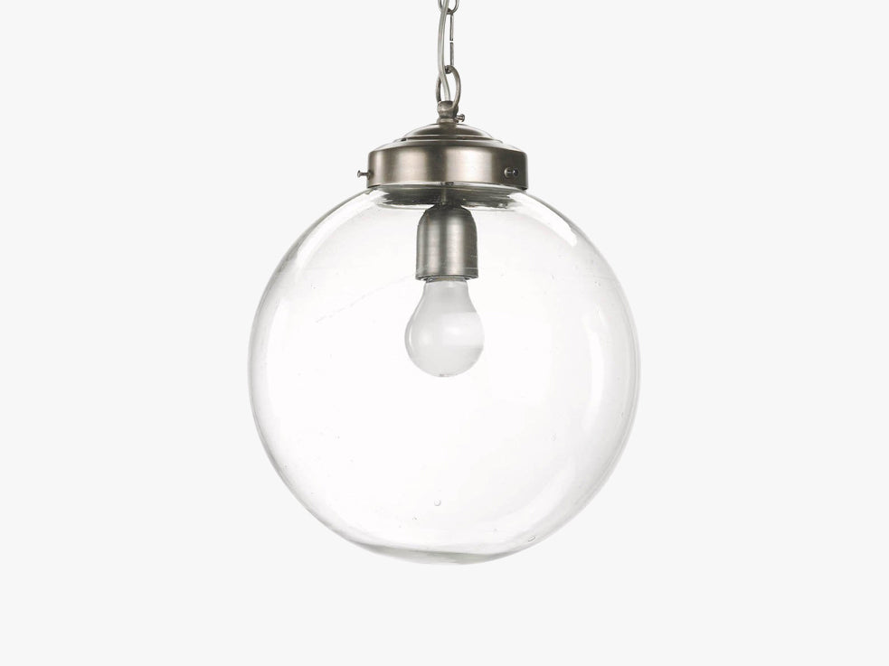 Lamp for ceiling, glass ball, ø-30 fra Nordal