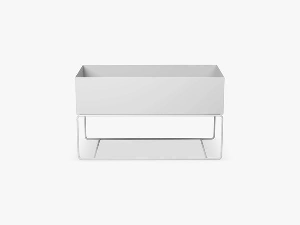 Plant Box Large - Light Grey fra Ferm Living